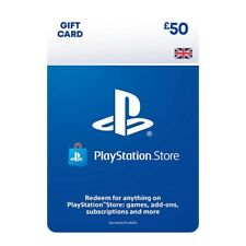 £50 UK PlayStation PSN Card GBP Wallet Top Up   Free And Fast Delivery ✅