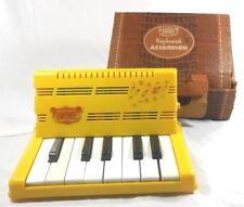 Vtg Emenee Keyboard Accordion (1955) Musical Instruments Toys Mc Modern Decor