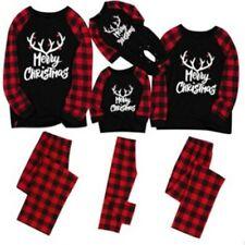 Ropa de dormir Ropa de Dormir Hombre Familia Navidad Navidad Pijama Pijama Conjunto de Navidad que empareja