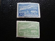 URUGUAY - timbre yvert et tellier n° 591 592 n** (dos jauni) (L1) stamp