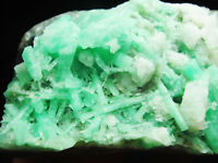 145g Excellent Columnar Gem Green EMERALD/BERYL Crystal on Matrix