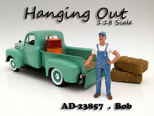 """""""HANGING OUT"""" BOB FIGURE FOR 1:18 SCALE MODELS BY AMERICAN DIORAMA 23857"""