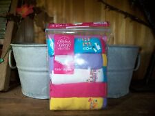 FADED GLORY GIRLS HIPSTER UNDERWEAR 5 PACK SIZE 12 WITH VARIOUS SAYINGS SCHOOL