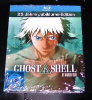 GHOST IN THE SHELL 25 JAHRE JUBILÄUMS MEDIABOOK EDITION BLU RAY NEU & OVP