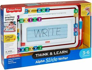 Fisher Price Learn To Write Think N Learn Frame Writing Words Slide Writer