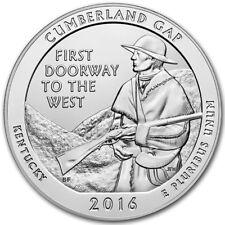 2016 5 oz Silver ATB Cumberland Gap National Historical Park, KY SKU# 400931
