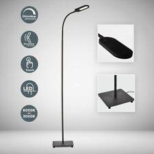 LED Stehlampe Stehleuchte 8W dimmbar Touch Leselampe Wohnzimmer Deckenfluter 230