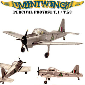 1/144 Miniwing Percival PROVOST T.1 - 4 Versions / 2 Plastic Model Kits in 1!