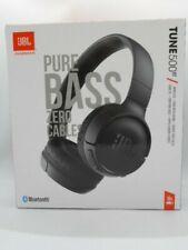 New JBL TUNE 500BT - On-Ear Wireless Bluetooth Headphone (Black)