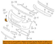 NISSAN OEM 15-16 Versa Front Bumper Grille Grill-Hole Cover 622A09KM0H