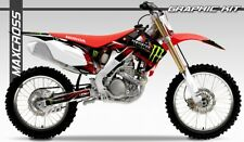 HONDA CRF250R 2010-2013 CRF450R 2009-2012 MAXCROSS GRAPHICS KIT DECALS KIT #20