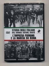 Dvd STORIA DEGLI ITALIANI 2 L'impresa fiumana e la Marcia su Roma  ISTITUTO LUCE