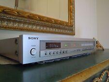 SONY FM STEREO TUNER ST-J60 DIGITAL SYNTHESIZER XTAL-LOCK  CAL TONE radio audio