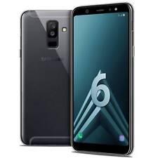 "Coque Pour Samsung Galaxy A6 PLUS 2018 (6"") Crystal Souple TPU Gel Transparent E"