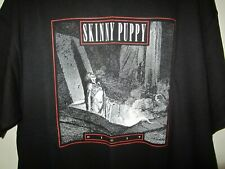 vintage SKINNY PUPPY shirt dig it industrial goth punk ministry XL tshirt tee