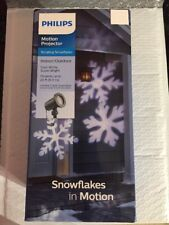 Philips Cool White LED Snowflake Motion Projector, Cool White Super Bright