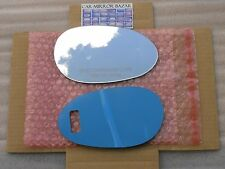 542RC FOR 98-06 SMART FORTWO Mirror Glass + FULL SIZE ADHESIVE Passenger Side RH