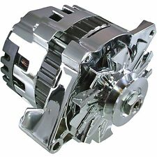 New Premium Quality Hi Output Chrome Alternator 220 Amps 1 Wire Self Exciting GM