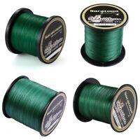 8 Strands Green 100% PE Power Dyneema Braid Fishing Line 100m/300m/500m/1000m