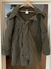 Dolce & Gabbana (D&G) Men's Khaki Green Parka - Small