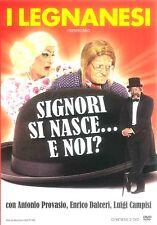 I LEGNANESI: SIGNORI SI NASCE..E NOI? - 2 DVD NUOVO E SIGILLATO, PRIMA STAMPA