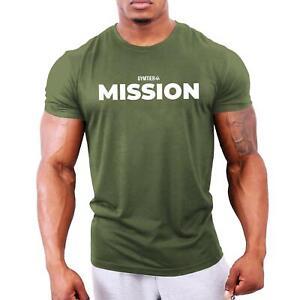 Mission - Men's Bodybuilding T-Shirt | Gym Training Vest Top by GYMTIER