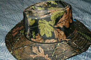 Outdoor  Boonie Bucket Hat Hunting Fishing Wide Brim Visor Real Tree Camo