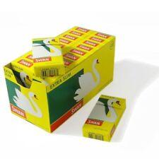 SWAN EXTRA SLIM PRE CUT CIGARETTE ROLLING FILTER TIPS FULL BOX 20 packs