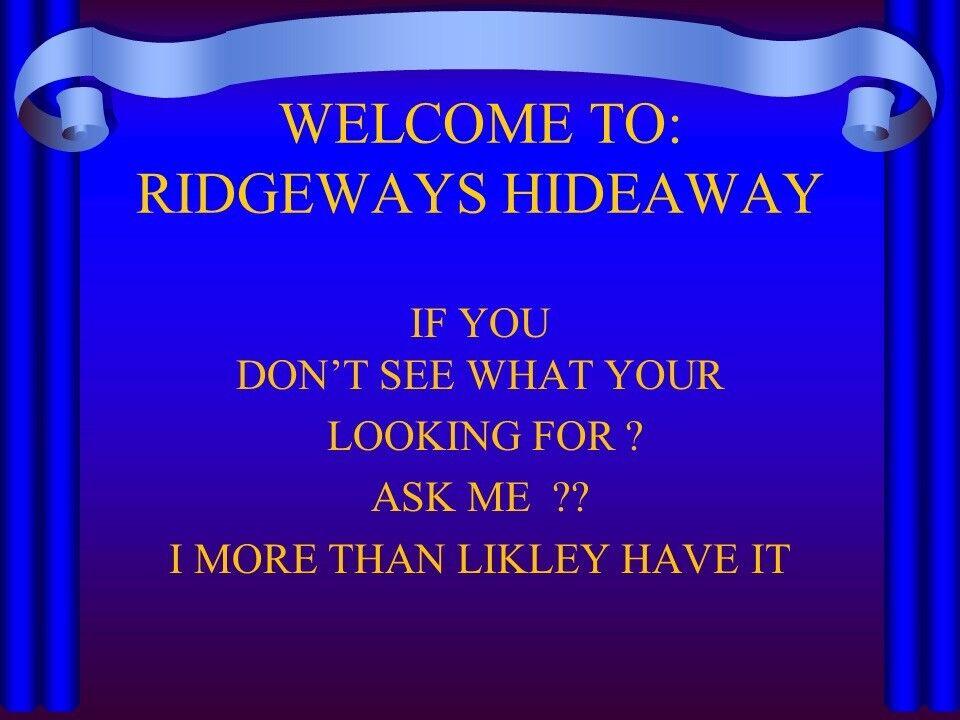 Ridgeways Hideaway