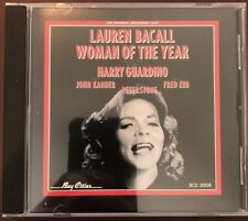 OOP Woman of the Year Original Broadway Cast Recording with Lauren Bacall  CD