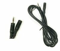 2ft 3.5mm Male / Female Stereo Audio Headphone / Speaker Extension Cable Cord