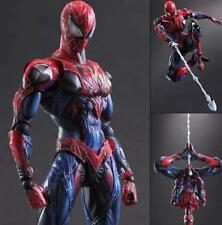 Marvel Universe Spider Man Variant Play Arts Kai PVC Action Figure Toy Gift