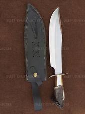 Custom Handmade 5160 Spring Steel Bastards Bowie Knife, A movie Knife Replica