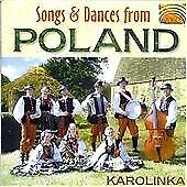 Songs & Dances from Poland, Karolinka, Audio CD, New, FREE & FAST Delivery