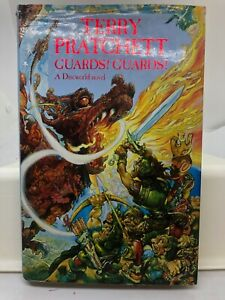 Guards! Guards! by Terry Pratchett (Hardcover 1989)
