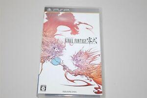 Final Fantasy Type-0 Japan Sony PSP game