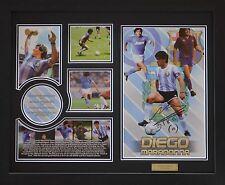 Diego Marabona Limited Edition Signed Framed Memorabilia