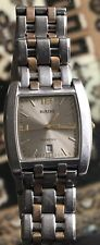 Rado Florence Mens Quartz Stainless Steel Wrist Watch Unisex Two Tone Swiss