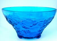 Summit Glass Reproduction of Fabled Cambridge Glass Buffalo Hunt Punch Bowl