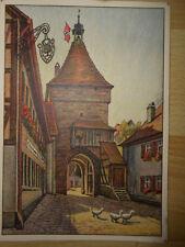 Orig. Litho-Postkarte CADOLZBURG   Fürth Franken Hermann LENZ Dahlen Nürnberg