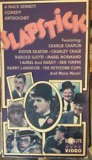 Slapstick (VHS) Rae Mack Sennett Comedy Anthology w/Keaton, Chaplin, Chase, etc.