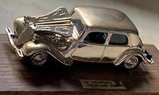 New ListingEligor 1/43 Cinquantenaire 1934 Traction Avant Citroen Rare! Made In France
