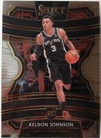 2019-20 Panini Select Keldon Johnson RC Concourse #45 Base Basketball NBA Mint