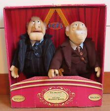 Waldorf and Statler Dolls in Original Box Igel Junior Toys Muppet Show Muppets.