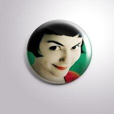 """AMELIE Le Fabuleux Destin d'Amélie Poulain - Pinbacks Badge Button 2 1/4"""" 59mm"""