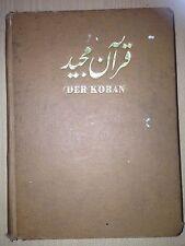 ARABIC DEUTSCH DER KORAN MAULANA SADRUDDIN 1964 ISLAM QURAN