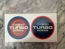 As New . Comme Neuf . autocollant . sticker CX 500 HONDA