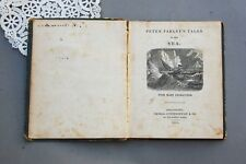 Peter Parley's Tales of The Sea 1848 Book Cowperthwait Hardcover Whaling Whale