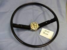 Mustang Cougar Black Steering Wheel 1968-1969
