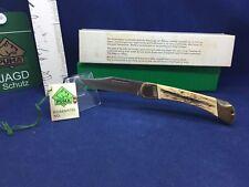 "1987 Puma 210 911 Prince 4 7/8"" Lockback Knife With Stag Handles Mint In Box #58"